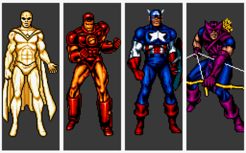 captain america and the avengers arcade marvel
