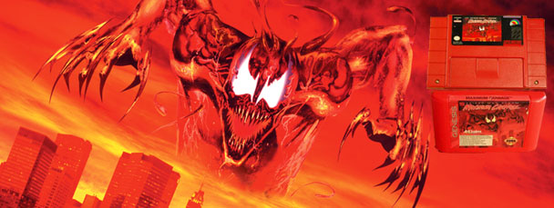spiderman and venom maximum carnage retro review � play