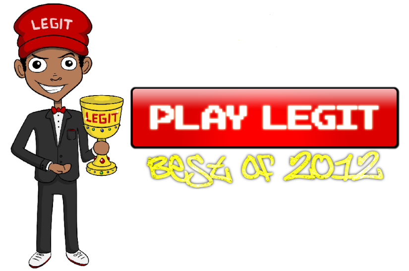 Play Legit's: Best Games of 2012 Winners