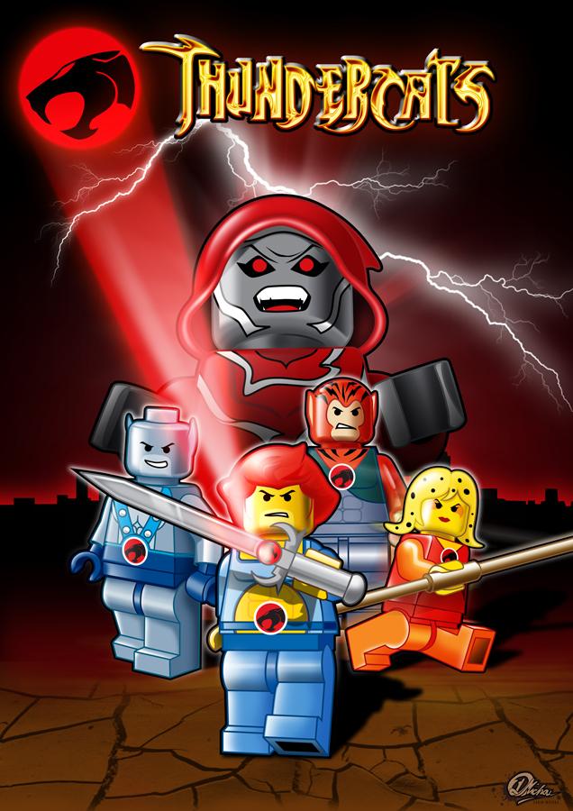 LEGO_THUNDERCATS_by_darinm