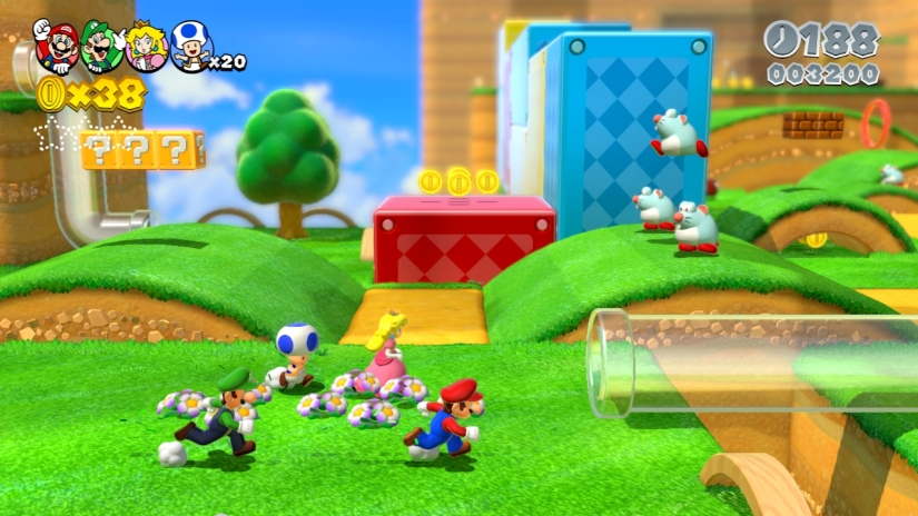 Super Mario 3D World Review (Wii U)