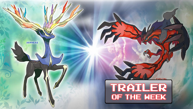 Pokemon X and Pokemon Y – Preview Gameplay Trailer