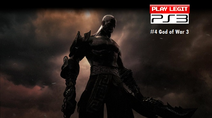 The Top 10 PS3 Games of All Time: #4 God of War 3