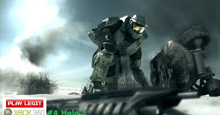 The Top 10 Xbox 360 Games of All Time #4 Halo 3 – Play Legit: Video