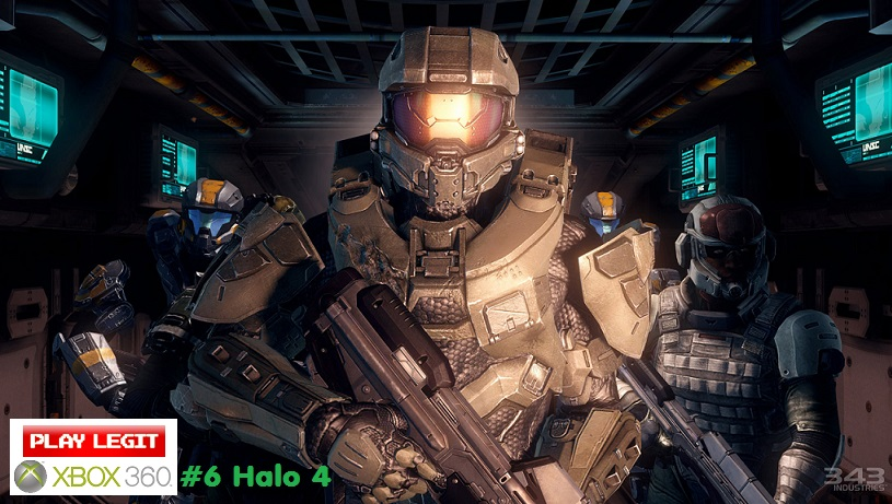 The Top 10 Xbox 360 Games of All Time #6 Halo4