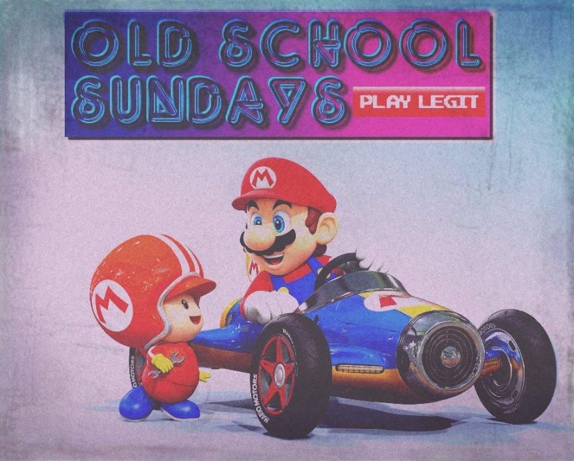 Mario Kart Old SchoolAds