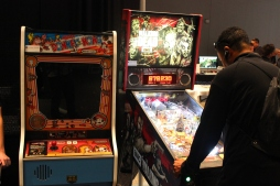 Ultra Street Fighter IV (Arcade Cabinets and all!), Smash Bros, Mario Kart 8, and many other games were available to play.