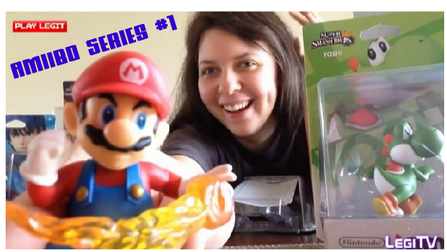 Amiibo Real Talk Unboxing Video