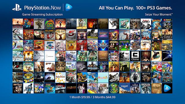 playstationNOW
