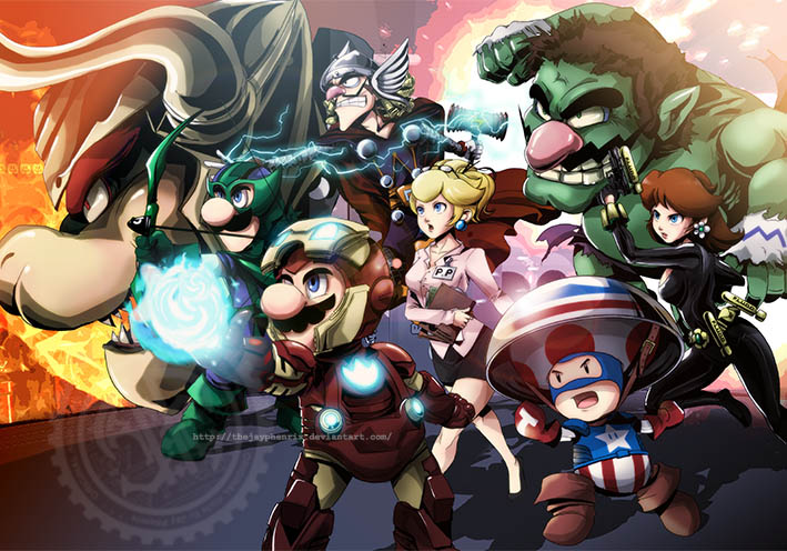 The-Mario-Avengers-super-mario-bros-32893064-709-496