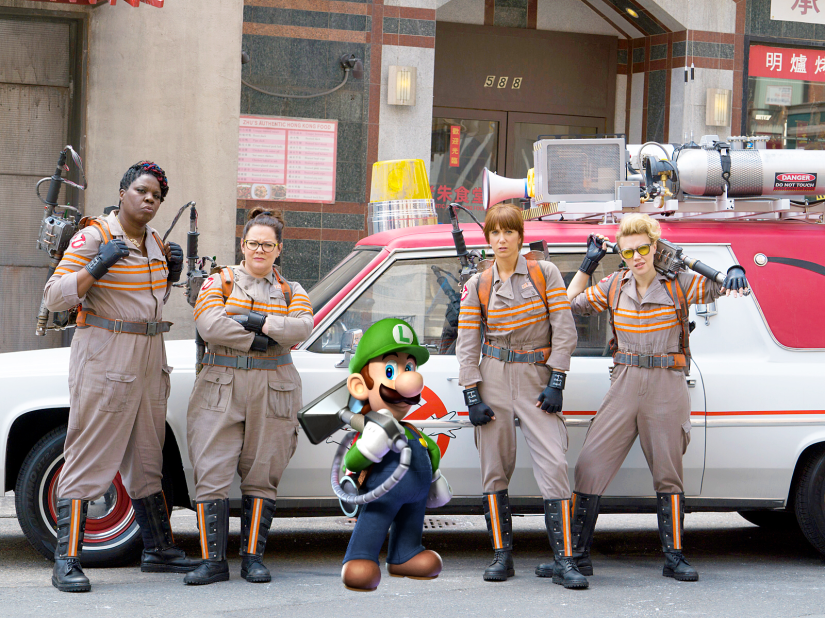 Luigi Joins The Cast of 'Ghostbusters'