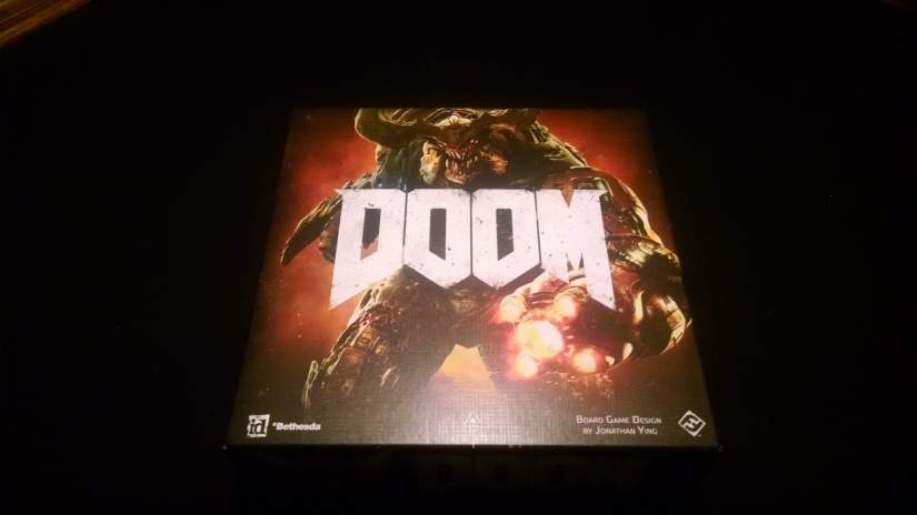 Tabletop Review: DOOM: The BoardGame