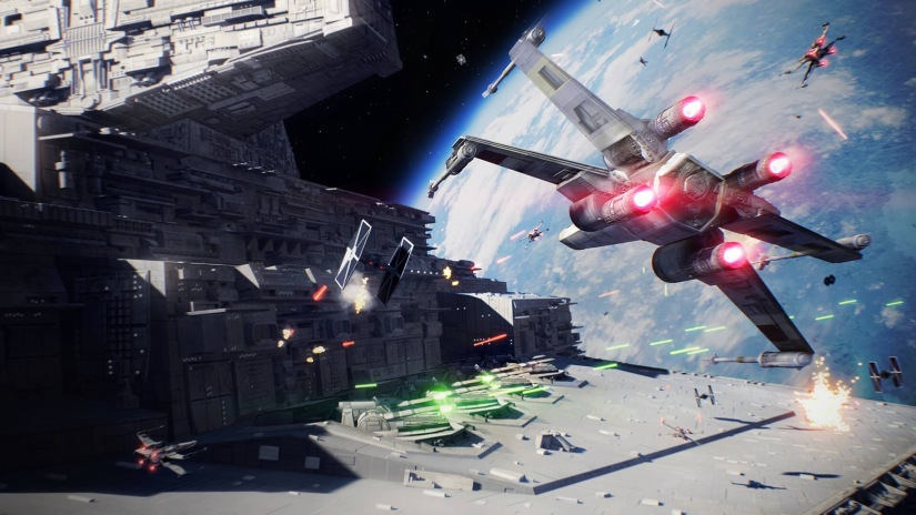Get a glimpse of Darth Maul's Starfighter in the latest Star Wars Battlefront 2 Gameplay Trailer