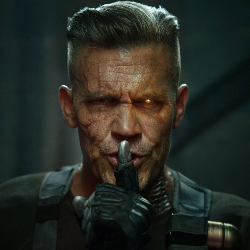 First look at Josh Brolin's Cable for @Deadpool2