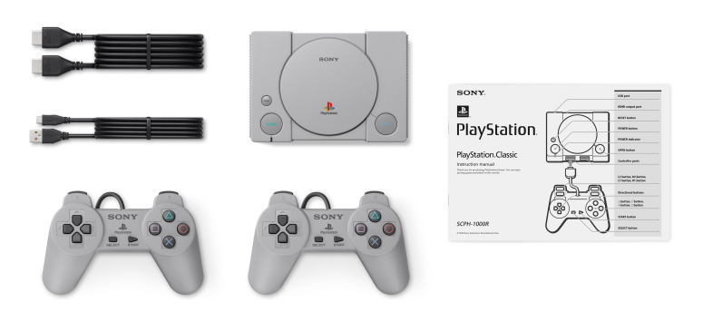 PlayStation Classic Promo Image 3